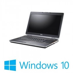 Laptop Refurbished Dell Latitude E6520, i5-2520M, Baterie Noua, Win 10 Home