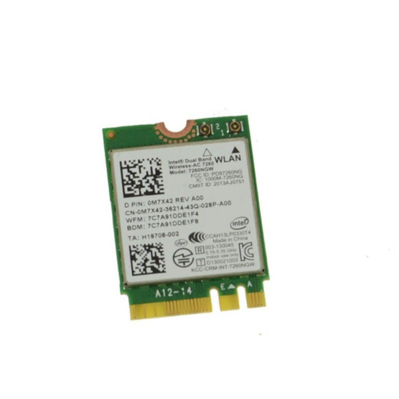 Placa de retea sh pentru Tableta Dell Venue 11 Pro 7130, Dell 0M7X42