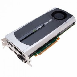Placi video second hand NVidia Quadro 5000 2.5 GB GDDR5 320-bit