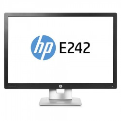Monitoare second hand LED HP E242, 24 inch, Full HD, IPS