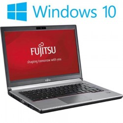 Laptop Refurbished Fujitsu LIFEBOOK E744 , i5-4200M, HD+, 256GB SSD, Win 10 Home