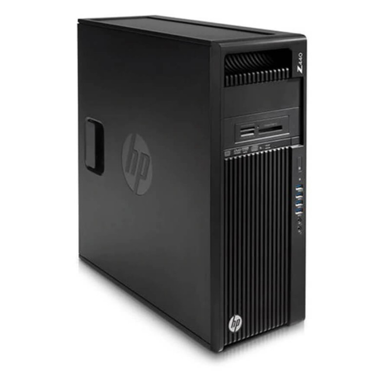 Workstation Second Hand HP Z440, Xeon Quad Core E5-1607 v3