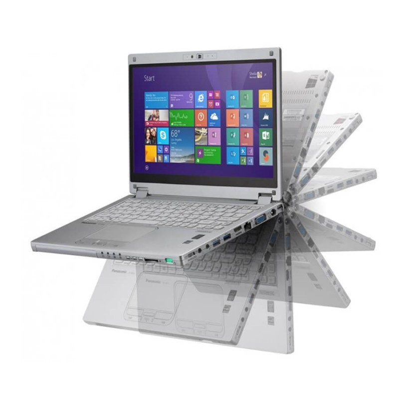 Laptop SH Panasonic ToughBook CF-MX4, i5-5300u, Touchscreen, Grad B