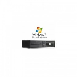 PC second hand HP Compaq 8000 Elite USDT, Dual Core E5400