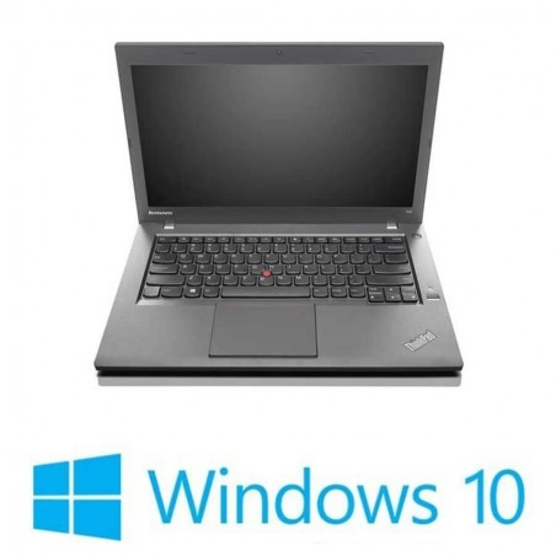 Laptopuri Refurbished Lenovo ThinkPad T440p, i5-4300M, 8GB DDR3, Win 10 Home