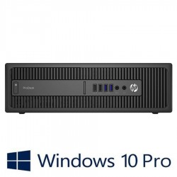 PC Refurbished HP ProDesk 400 G3 SFF, I5-6500, 8GB DDR4, Win 10 Home