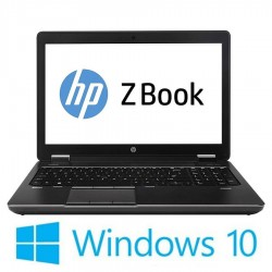 Laptop Refurbished HP ZBook 15 G2, i7-4810MQ, 500GB SSD, Win 10 Home