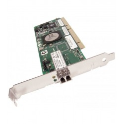 Placa retea second hand Qlogic QLA2340 PCIe-to-2Gbps, Fiber Chanel
