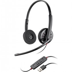 Casti Call Center Noi Plantronics BlackWire C320 USB
