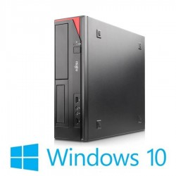 PC Refurbished Fujitsu ESPRIMO E420, Intel G1820, Generatia 4, Win 10 Home