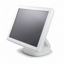 Monitor Refurbished Touchscreen USB si Serial Elo 1515L, Alb