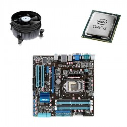 Kit Placa de Baza Second Hand Asus P7Q57-M, i5-660, Cooler