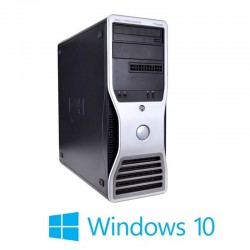 PC Refurbished Gaming Dell Precision T3500, X5650, 12GB, GeForce GT630, Win 10 Home