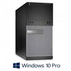PC Refurbished Gaming Dell OptiPlex 3020 MT, i5-4570, 8GB, 2TB, GT630 2GB 128-bit, Win 10 Pro