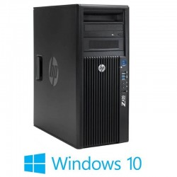 Workstation Refurbished HP Z420, Xeon E5-2670, Quadro 2000, Windows 10 Home