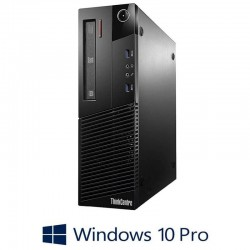 Calculatoare Refurbished Lenovo ThinkCentre M83 SFF, i5-4590, 8GB RAM, Win 10 Pro