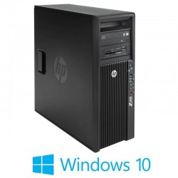 Workstation Refurbished HP Z420, E5-2665, NVIDIA Quadro K4000, Win 10 Home