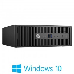 PC Refurbished HP ProDesk 400 G3 SFF, Quad Core I5-6500, Win 10 Home
