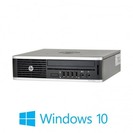 PC Refurbished HP Elite 8300 USDT, i3-3220, 8GB DDR3, 120GB SSD, Win 10 Home
