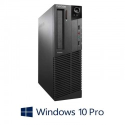 Calculatoare Refurbished Lenovo ThinkCentre M73 SFF, Intel i3-4130, Win 10 Pro