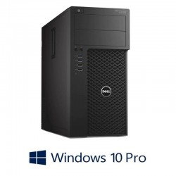 Workstation Refurbished Dell Precision 3620 MT, i7-7700K, FirePro W2100, Win 10 Pro