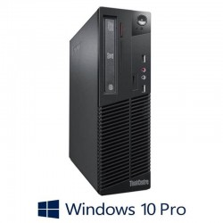 Calculatoare Refurbished Lenovo ThinkCentre M73 SFF, Core i5-4460, Win 10 Pro
