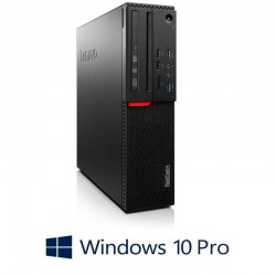 Calculatoare Refurbished Lenovo ThinkCentre M710 SFF, Intel i5-7500, Win 10 Pro