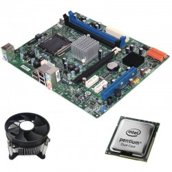 Kit Placa de Baza Refurbished Medion MS-7653, Intel Dual Core E5500, Cooler
