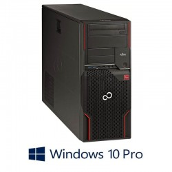 Workstation Open Box Fujitsu CELSIUS W520, E3-1225 v2, SSD, Quadro K2000, Win 10 Pro