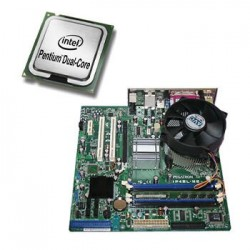 Placa de baza Asus Pegatron IP4BL-ME, Dual Core E2220, Cooler