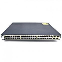 Switch second hand Cisco Catalyst WS-C3750-48PS-S