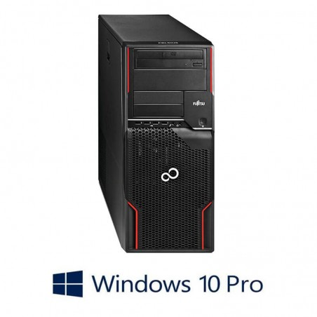 Workstation Refurbished Fujitsu CELSIUS W510, E3-1230, Quadro 600, Win 10 Pro