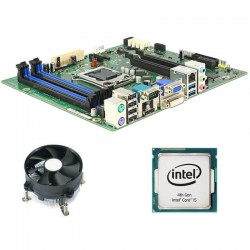 Kit Placa de Baza Refurbished Fujitsu D3221-B, Intel Quad Core i5-4570, Cooler
