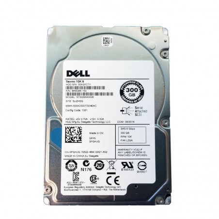 Hard Disk Refurbished Dell 9WE066-150 300GB SAS 6Gbps 2.5 inch, 64 Mb Cache