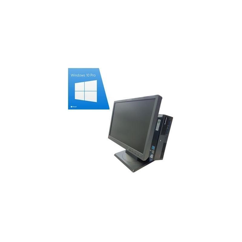 Sistem POS ELO ET 1522L cu MSR, Lenovo M58 usff, Dual Core E5400