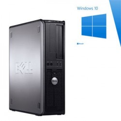 PC Refurbished Dell Optiplex 780 SFF, E8400, Windows 10 Home