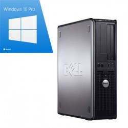 PC Refurbished Dell Optiplex 780 SFF, E8400, Windows 10 Pro