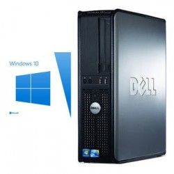 PC Refurbished Dell Optiplex 380 sff, E7500, Windows 10 Home