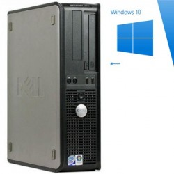 PC Refurbished Dell Optiplex 760 DT, E5200, Windows 10 Home