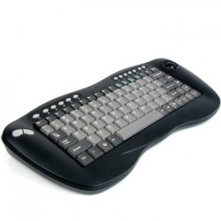 Tastatura noua Adesso Wireless Mini Trackball USB QWERTY US