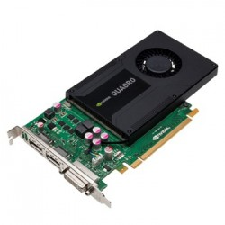 Placa video second hand NVIDIA Quadro K2000, 2GB GDDR5 128-bit