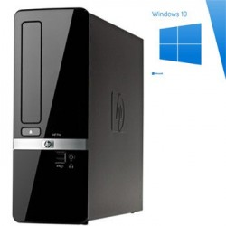 PC Refurbished HP Compaq Pro 3120 SFF, E8500, Windows 10 Home