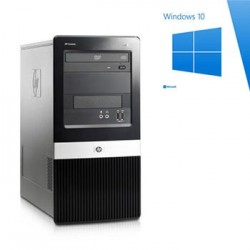 PC Refurbished HP Dx2400 Mt, Quad Core Q9400, Win 10 Home