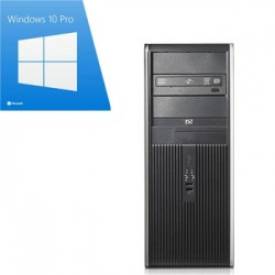 PC Refurbished HP DC7900 MT, Core 2 Duo E8500, Windows 10 Pro