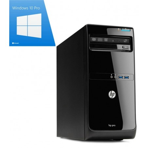 PC Refurbished HP Pro 3500 MT, Pentium G640, Windows 10 Pro