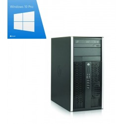 PC Refurbished HP Compaq 6300 Pro Tower, i3-3220, Win 10 Pro