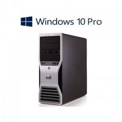 PC gaming Dell T3600, E5-1650, GeForce GTX 1050 OC, Win 10 Pro
