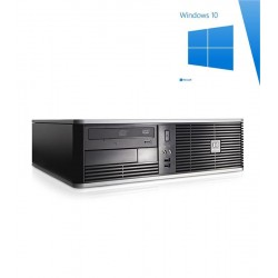 Calculatoare Refurbished HP Compaq DC5800 SFF, E8200, Win 10 Home