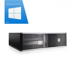 PC Refurbished HP Compaq DC5800 SFF, Dual Core E2200, Win 10 Pro