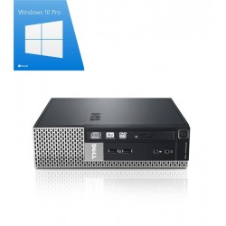 PC Refurbished Dell Optiplex 790 USFF, Core i3-2130, Win 10 Pro